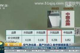 除甲醛空气净化器国产VS外国品牌哪个效果好?