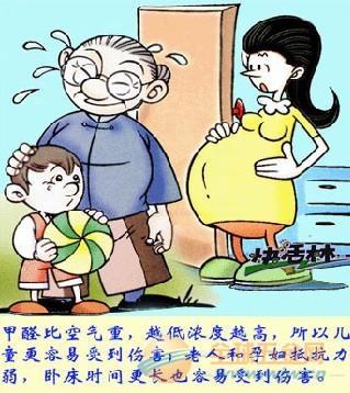 甲醛对孕妇的危害案例