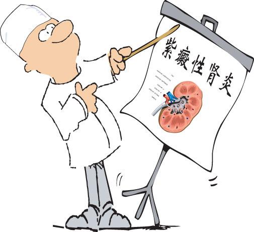 甲醛超标致肾炎图片