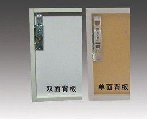 橱柜甲醛污染单面板展示