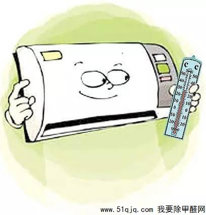 打开空调提高室温