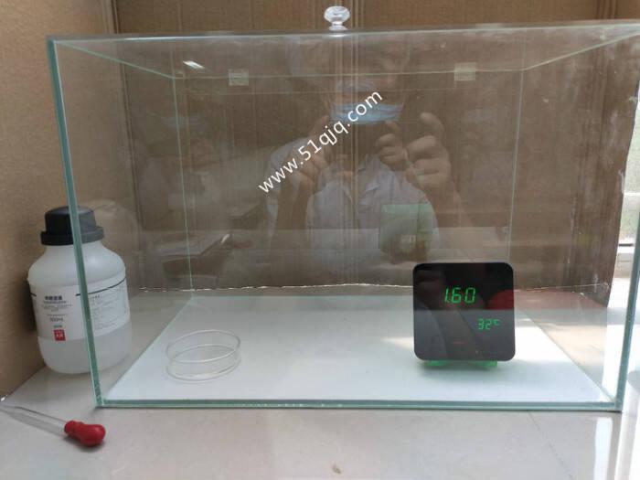 二氧化氯除甲醛试验验证1
