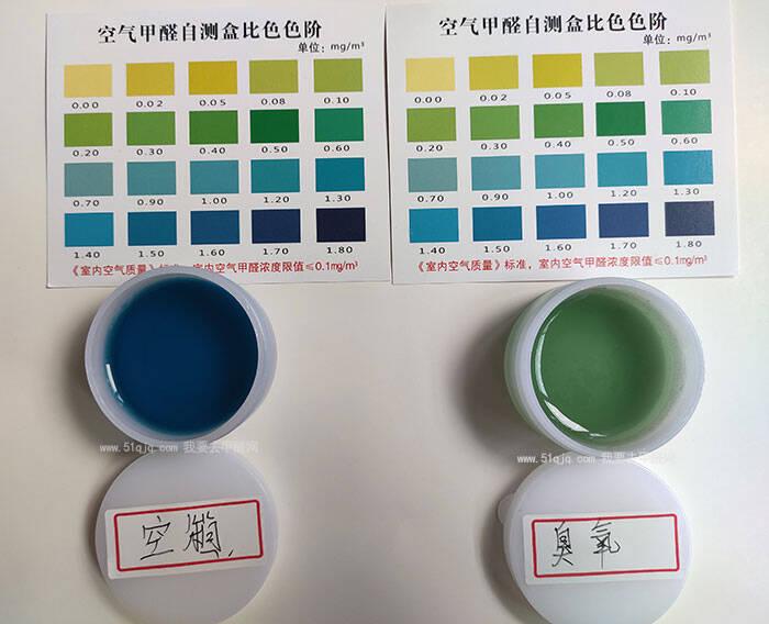 臭氧除甲醛试验结果展示