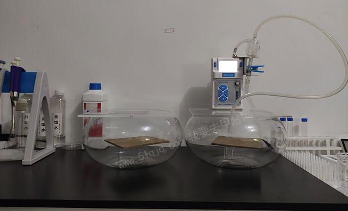 东逸DY-15板醛净除甲醛试验——大气采样